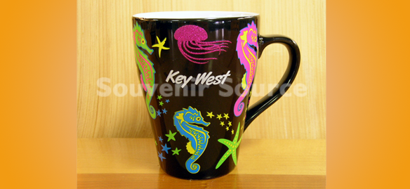 In House Imprintables - Seahorse Tiffany Mug